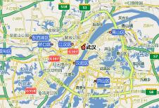 搜狗地图-武汉电子地图图片